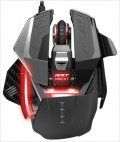 Проводная мышь Mad Catz RAT PRO X+ Gaming Mouse – Black/Red для PC