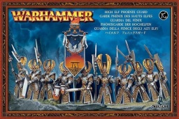 Набор миниатюр Warhammer 40,000. High Elf Phoenix Guard