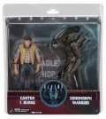 Набор коллекционных фигурок Aliens: Hadley's Hope Set Carter J. Burke & Xenomorph Warrior