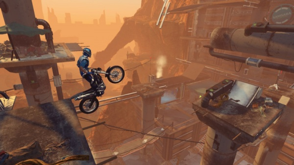 Trials Fusion. Riders of the Rustlands. Дополнение