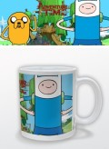 Кружка Adventure Time. Finn & Jake