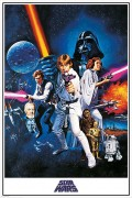 Плакат Star Wars: A New Hope One Sheet