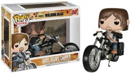 Фигурка Funko POP Rides: Walking Dead – Daryl Dixon's Chopper (9,5 см)