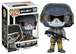 Фигурка Funko POP Games: Call of Duty – Lt. Simon 'Ghost' Riley (9,5 см)