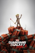 Плакат Guardians Of The Galaxy: Groot Dinamyte