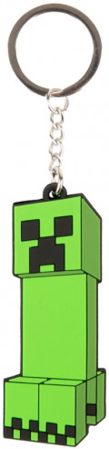 Брелок Minecraft: Creeper Anatomy Flip