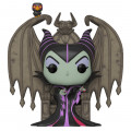 Фигурка Funko POP: Disney Villains – Maleficent On Throne Deluxe (9,5 см)