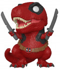 Фигурка Funko POP Marvel: Deadpool 30th – Dinopool Bobble-Head (9,5 см)