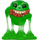 Фигурка Funko POP Movies: Ghostbusters – Slimer With Hot Dogs Translucent (9,5 см)