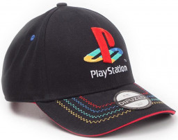 Бейсболка Playstation: Retro Logo Adjustable