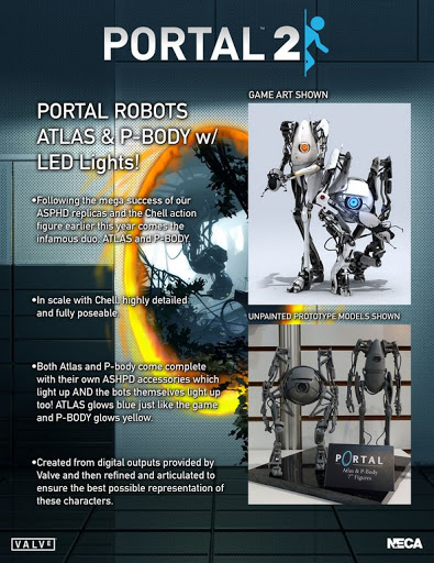 Фигурка Portal. Atlas With LED Lights (18 см)