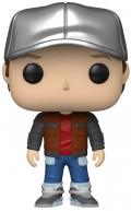 Фигурка Funko POP Movies: Back To The Future – Marty In Future Outfit (9,5 см)