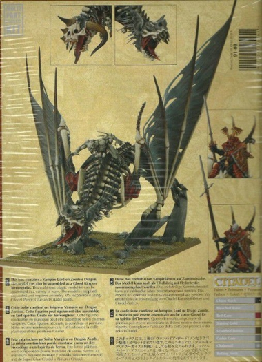 Набор миниатюр Warhammer 40,000. Vampire Lord On Zombie Dragon