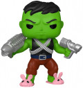 Фигурка Funko POP Marvel: Professor Hulk with Chase Bobble-Head Exclusive (9,5 см)