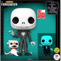 Фигурка Funko POP Disney:The Nightmare Before Christmas – Jack with Zero Glows in the Dark Exclusive (9,5 см)