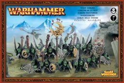 Набор миниатюр Warhammer 40,000. Night Goblins