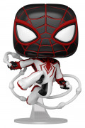 Фигурка Funko POP: Marvel Spider-Man Gamerverse – Miles Morales T.R.A.C.K. Suit Bobble-Head (9,5 см)