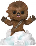 Фигурка Funko POP: Star Wars Battle At Echo Base – Chewbacca Flocked Deluxe Bobble-Head Exclusive (9,5 см)