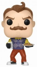 Фигурка Hello Neighbor Funko POP Games: Neighbor With Milk & Cookies (9,5 см)