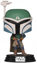 Фигурка Funko POP: Star Wars The Mandalorian – Covert Mandalorian Bobble-Head (9,5 см)