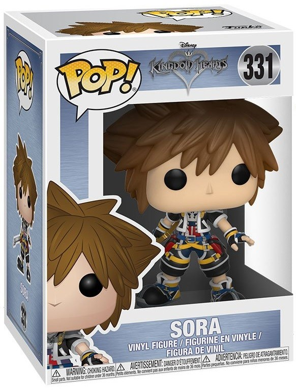 Фигурка Funko POP: Kingdom Hearts – Sora (9,5 см)