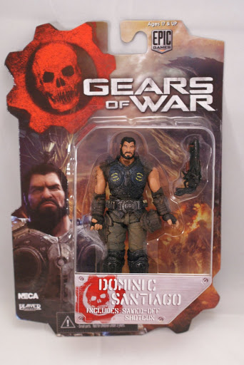 Фигурка Gears of War 3 Series 2 Dominic Santiago (10 см)