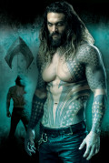 Постер DC: Justice League – Aquaman