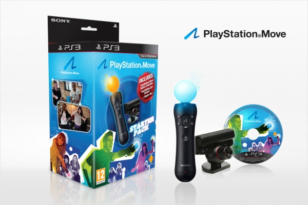 Комплект PlayStation Move Starter Pack (камера + контроллер + диск Blu‐Ray)