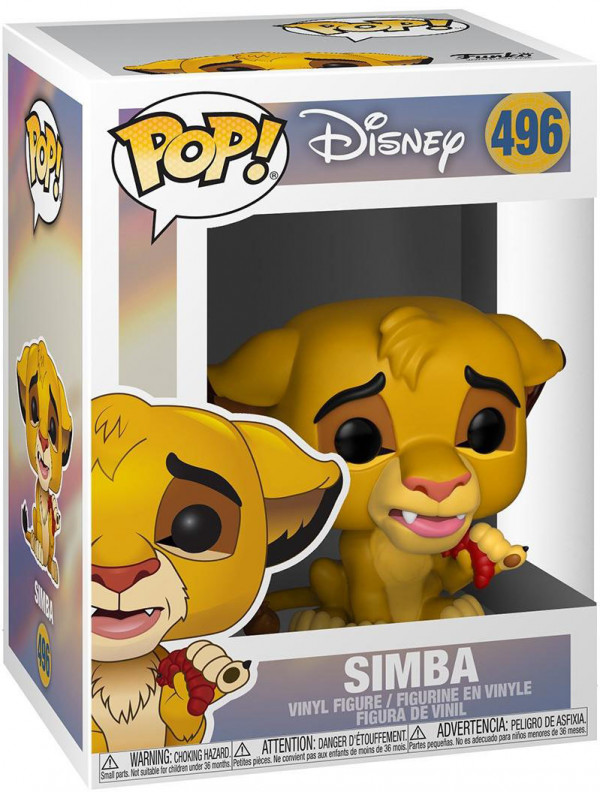 Фигурка Funko POP: Disney The Lion King – Simba (9,5 см)