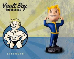 Фигурка Fallout Vault Boy. 111 Bobbleheads. Series One. Strength (13 см)
