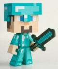 Фигурка Minecraft. Diamond Steve (16 см)