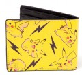 Кошелек Pokemon. All Over Pikachu Bifold Wallet