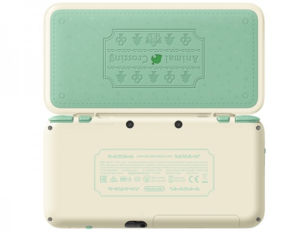 Игровая консоль New Nintendo 2DS XL Animal Crossing Edition + игра Animal Crossing: New Leaf – Welcome amiibo