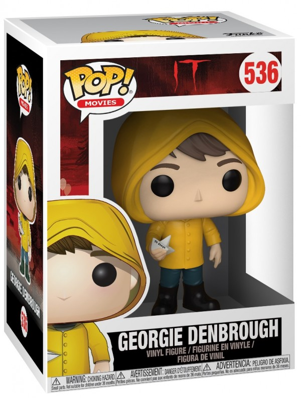 Фигурка Funko POP Movies: IT – Georgie Denbrough With Boat (9,5 см)