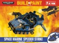 Warhammer 40 000: Miniatures Build+Paint – Space Marine Speeder Strike