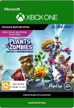 Plants vs. Zombies: Battle for Neighborville [Xbox One, Цифровая версия]