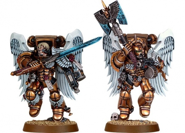 Набор миниатюр Warhammer 40,000 Blood Angels Sanguinary Guard