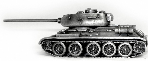 World of Tanks. Модель танка Т34-85 (1:72)