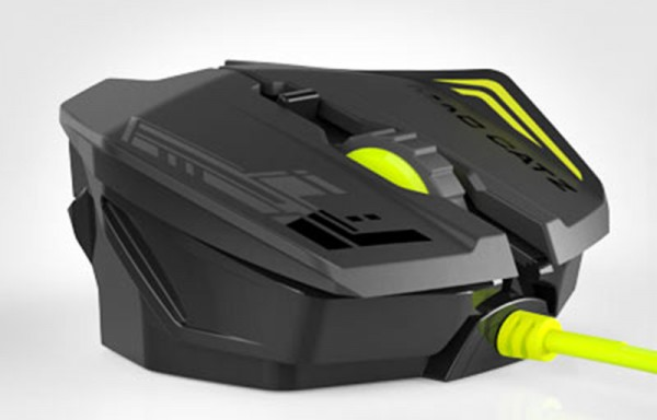 Проводная мышь Mad Catz R.A.T.1 Mouse Black / Green для PC