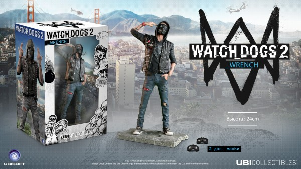 Фигурка Watch Dogs 2. Wrench (24 см)