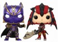 Фигурка Funko POP Games: Marvel vs. Capcom – Black Panther vs. Monster Hunter (9,5 см)