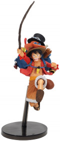 Фигурка One Piece: Three Brothers Monkey D. Luffy (11 см)