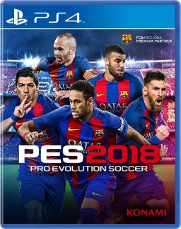 Pro Evolution Soccer 2018 [PS4]