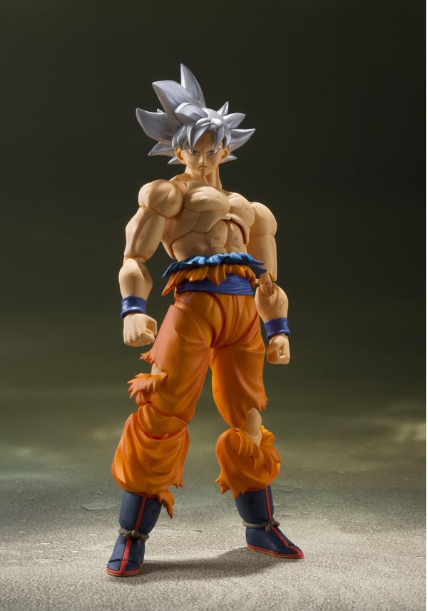 Фигурка Dragon Ball: Super Son Gokou Ultra Instinct S.H.Figuarts (14см)
