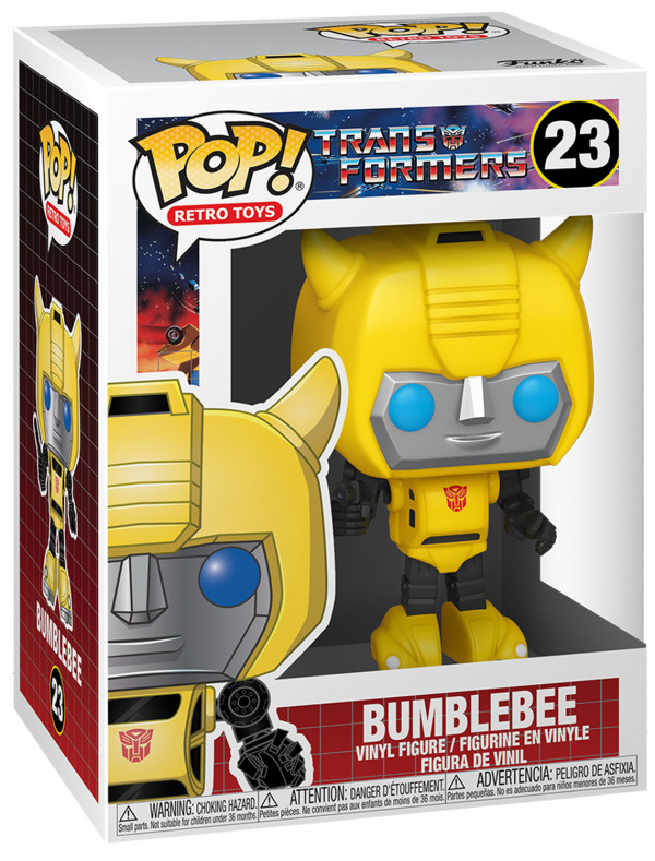 Фигурка Funko POP Retro Toys: Transformers – Bumblebee (9,5 см)