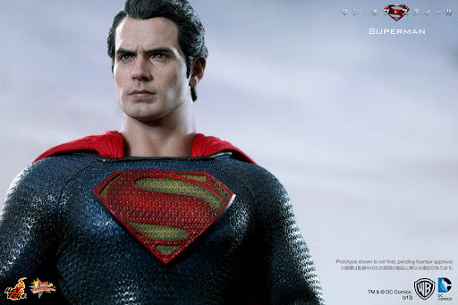 Фигурка Man of Steel 1/6. Superman (30 см)