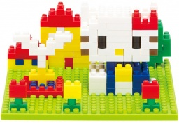 Конструктор nanoBlock. Hello Kitty в парке