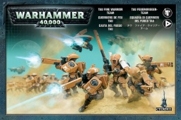 Набор миниатюр Warhammer 40,000. Tau Fire Warrior Team