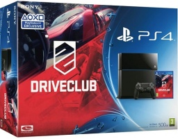 Комплект Sony PlayStation 4 (500 GB) + игра Driveclub