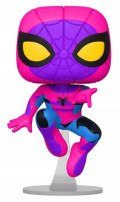 Фигурка Funko POP Marvel: Black Light – Spider-Man Bobble-Head Exclusive(9,5 см)
